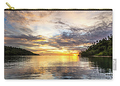 Stunning Sunset In The Togian Islands In Sulawesi Carry-all Pouch