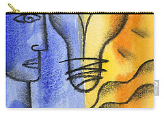Carry-all Pouch featuring the painting Success by Leon Zernitsky