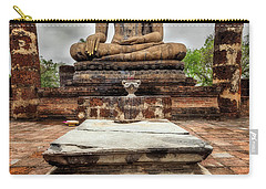 Carry-all Pouch featuring the photograph Sukhothai Historical Park by Adrian Evans