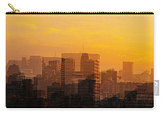 Carry-all Pouch featuring the photograph Summer In The City by Cathy Donohoue