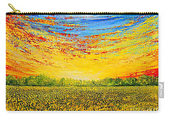 Carry-all Pouch featuring the painting Summer by Teresa Wegrzyn