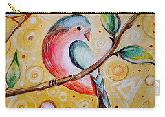 Sunshine Birds Carry-all Pouch