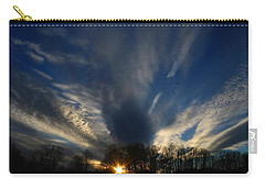 Sundown Skies Carry-all Pouch by Kathryn Meyer