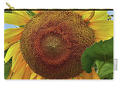 Sunflower Carry-all Pouch by Mikki Cucuzzo