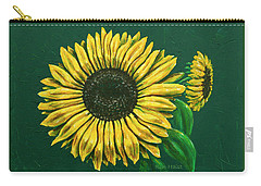 Sunflower Carry-all Pouch by Ron Haist
