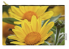Carry-all Pouch featuring the photograph Sunflowers  by Saija Lehtonen