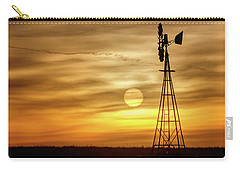 Sunrise And Windmill -02 Carry-all Pouch