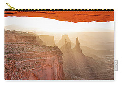Sunrise At Mesa Arch Carry-all Pouch