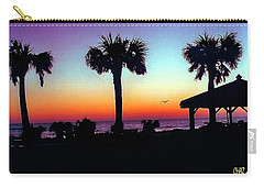 Sunrise On Ormond Beach Carry-all Pouch