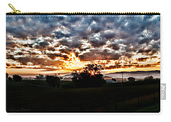 Sunrise Over Fields Carry-all Pouch