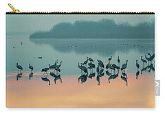 Sunrise Over The Hula Valley Carry-all Pouch