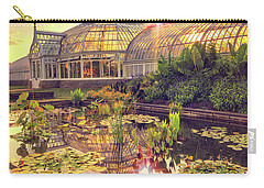 Carry-all Pouch featuring the photograph  Sunset At Phipps Conservatory by Emmanuel Panagiotakis