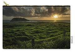 Sunset At Point Sur Carry-all Pouch