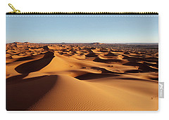 Sunset In Erg Chebbi Carry-all Pouch by Aivar Mikko