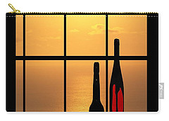 Carry-all Pouch featuring the photograph Sunset In Hawaii by Athala Carole Bruckner