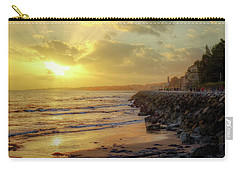Carry-all Pouch featuring the photograph Sunset In The Coast by Carlos Caetano