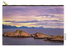 Sunset In The North Carry-all Pouch by Maciej Markiewicz