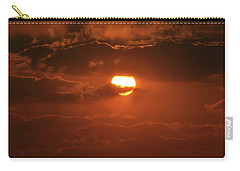 Carry-all Pouch featuring the photograph Sunset by Linda Ferreira