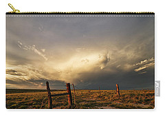 Sunset Near Santa Rosa New Mexico Carry-all Pouch
