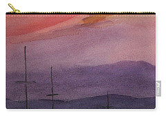 Sunset On Madeline Island Carry-all Pouch