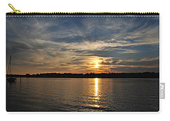 Sunset On The Bayou Carry-all Pouch