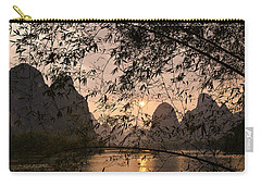 Sunset On The Li River Carry-all Pouch