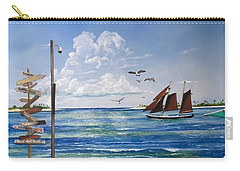 Schooner Jolly II Key West Florida Carry-all Pouch