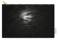 Carry-all Pouch featuring the photograph super moon II by Irma BACKELANT GALLERIES