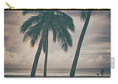 Carry-all Pouch featuring the photograph Surf Mates 2 by Nik West