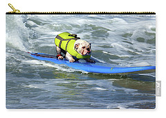 Surfing Dog Carry-all Pouch