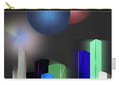 Surreal City Carry-all Pouch by John Krakora