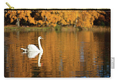 Swan On A Lake Carry-all Pouch