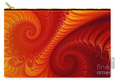 Swirls Two Carry-all Pouch by Geraldine DeBoer