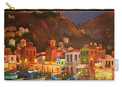 Symi Harbour Greece Carry-all Pouch by Joe Gilronan