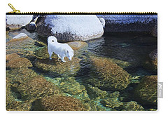 Carry-all Pouch featuring the photograph Tahoe Wild  by Sean Sarsfield