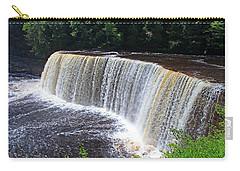 Tahquamenon Upper Falls IIi Carry-all Pouch by Michiale Schneider