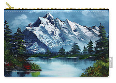 Bob Ross Paintings Carry-All Pouches