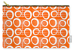 Tangerine Loop Carry-all Pouch