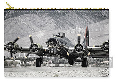 B-17 Bomber Madras Maiden  Carry-all Pouch