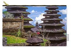 Carry-all Pouch featuring the photograph Temple City by T Brian Jones