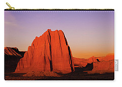 Carry-all Pouch featuring the photograph Temple Of The Sun by Norman Hall