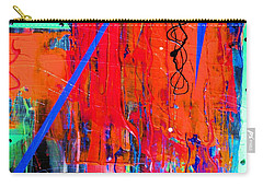 Textured Abstract Carry-all Pouch by Carolyn Repka