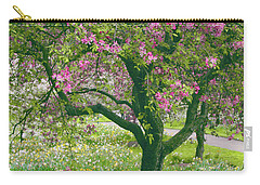 The Apple Doesn't Fall Far From The Tree Carry-all Pouch by Jessica Jenney