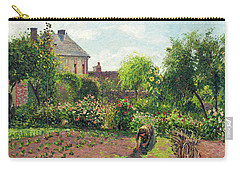 The Artist's Garden At Eragny Carry-all Pouch