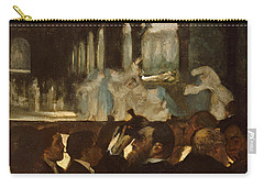 The Ballet From Robert Le Diable Carry-all Pouch by Edgar Degas