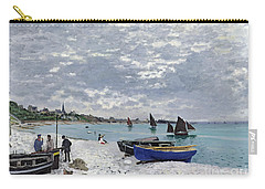 The Beach At Sainte Adresse Carry-all Pouch