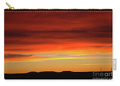 The Buttes At Sundown Carry-all Pouch
