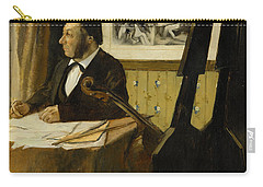 The Cellist Pilet Carry-all Pouch by Edgar Degas