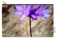 Carry-all Pouch featuring the photograph The Color Purple by Sean Griffin