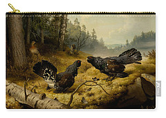 The Fighting Capercaillies Carry-all Pouch